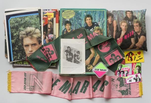 Doe Maar, kleding, jaren '80