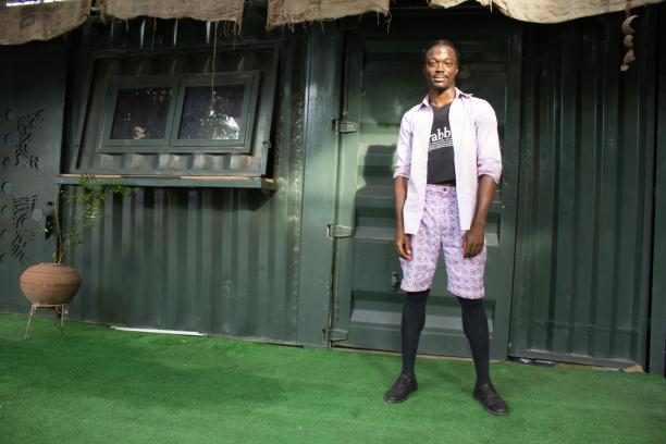 Eddie Okolo. Foto: © Carmen Hogg