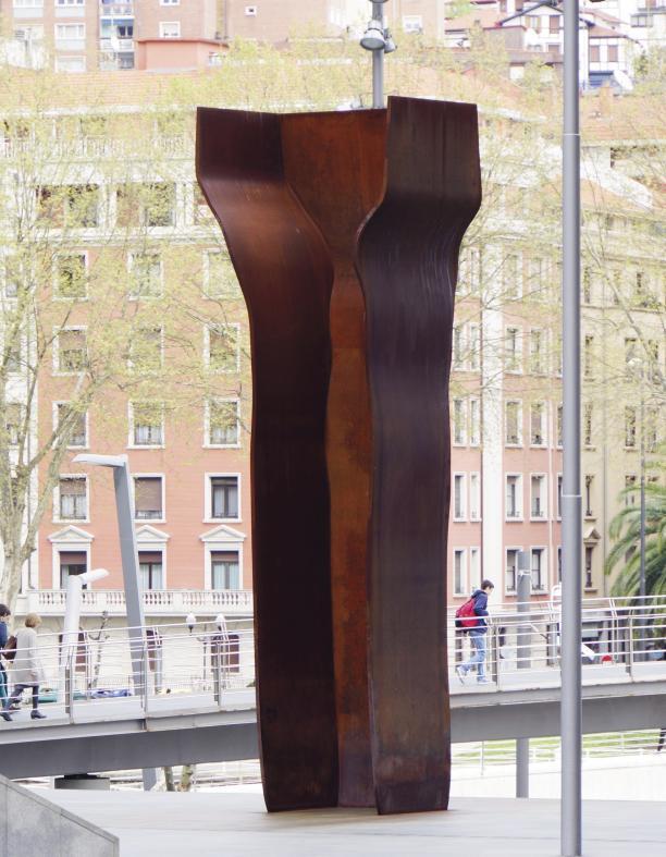"Eduardo Chillida, ""Buscando La Luz IV ""(Searching for Light IV), 2002-2004, Londen"