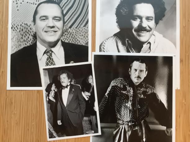 Een serie portretten van Koos door de jaren heen