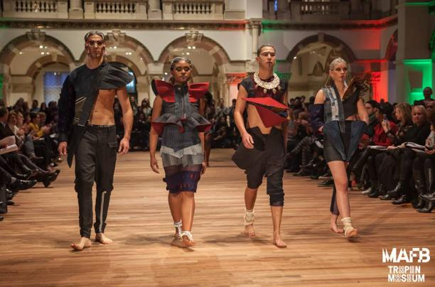 Gehele collectie ontworpen door Meredith Joeroeja voor fashion fest by MAFB 2017. Foto: Les Adu.