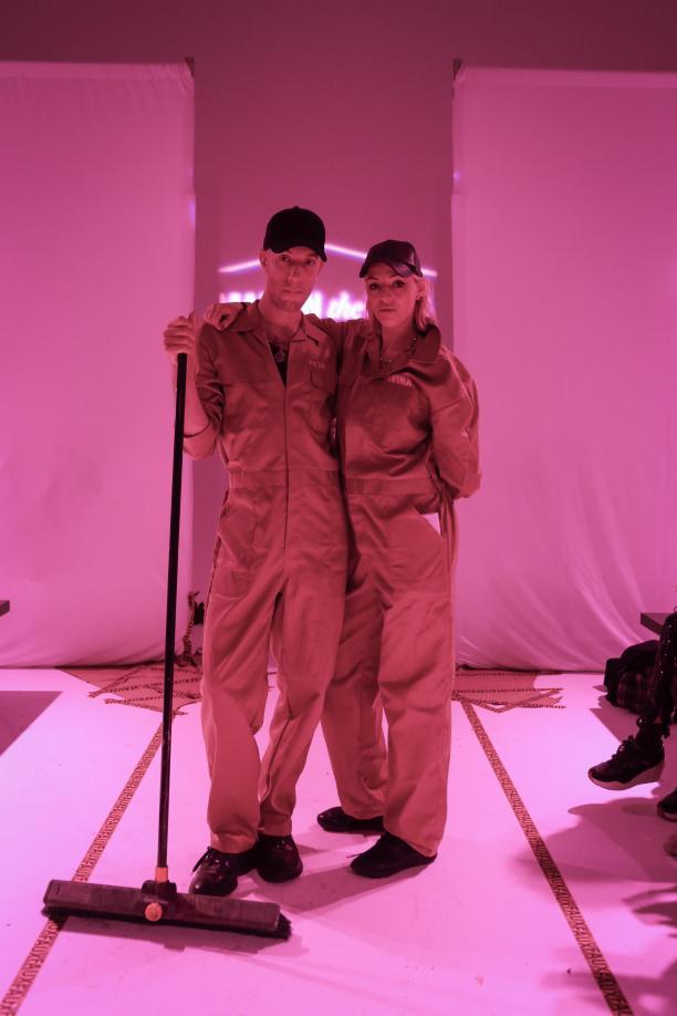 Foto1: Joris Suk en Tessa de Boer na afloop van de show. Credits: Team Peter Stigter.