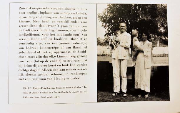 Afb. 8 Foto van het artikel van J.C. Ruttens-Pekelharing uit 1927. Bron: Wils & Bronkhorst, 'Tropen Echt'.