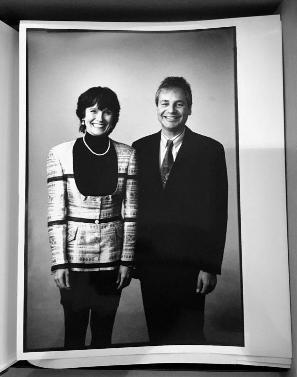 Fransje en haar man op de 50e verjaardag van Renie van Wijk, foto: ©Hotze Eisma