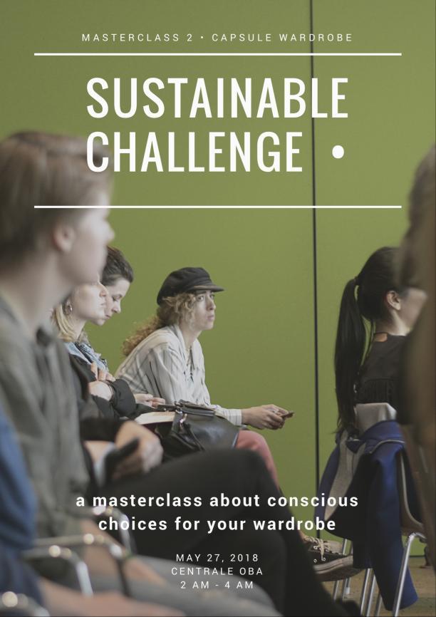 Sustainable Challenge 27 mei - Capsule Wardrobe
