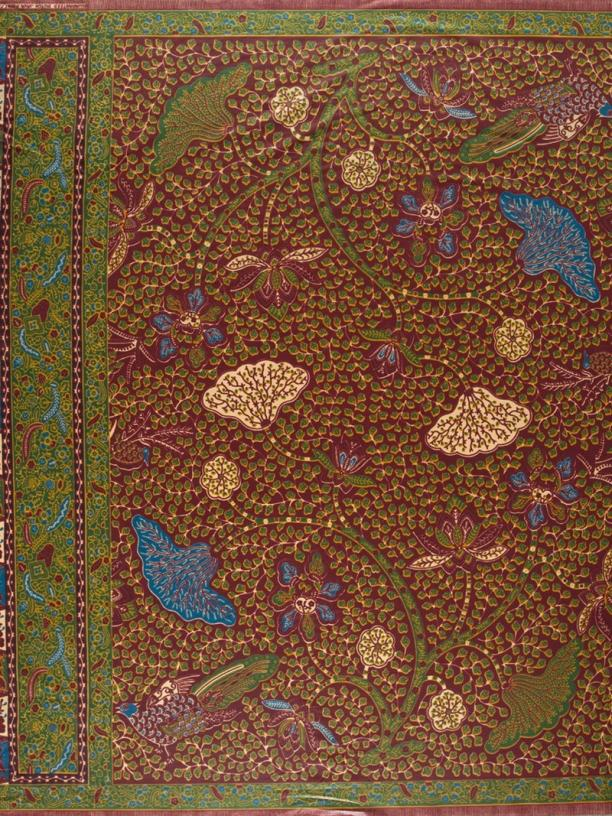 Java Print, Vlisco. Blog Modemuze, Batik 'Tiga Negeri' & de Java Print 'Good Living', Sabine Bolk