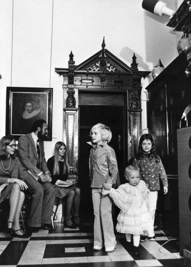 Voorjaars- en zomercollectie kinderkleding van Barbara Farber, 19 februari 1974, archief Centraal Museum Utrecht.