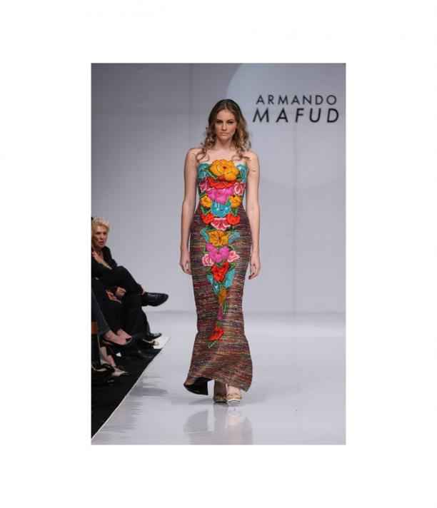Armando Mafud, Mexican Fashion Week, S/S 2009, via: Popsugar.