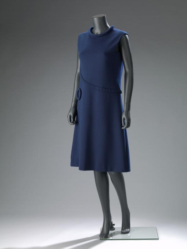 Jurk, Pierre Cardin, ca. 1960-1969. Collectie: Amsterdam Museum.