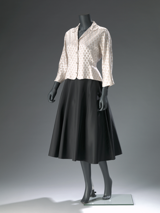 'New Look' ensemble (jasje en rok), ca. 1950. Collectie: Amsterdam Museum.