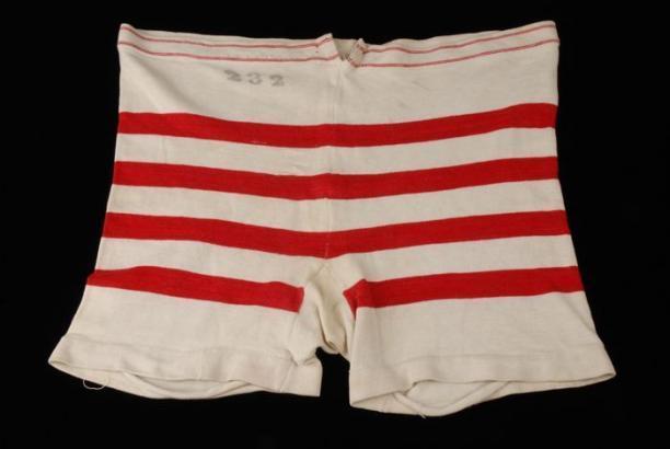 Zwembroek van katoen, ca. 1895-1905, collectie Museum Rotterdam, objectnr.: 22108