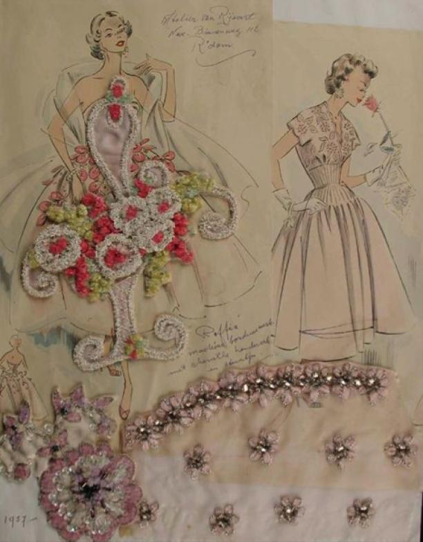 Tekening van Nellie, jaren '50