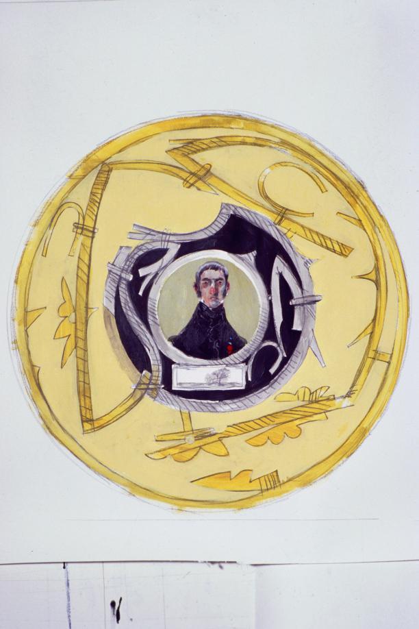 'Dandy' portret door RAVAGE, 1996