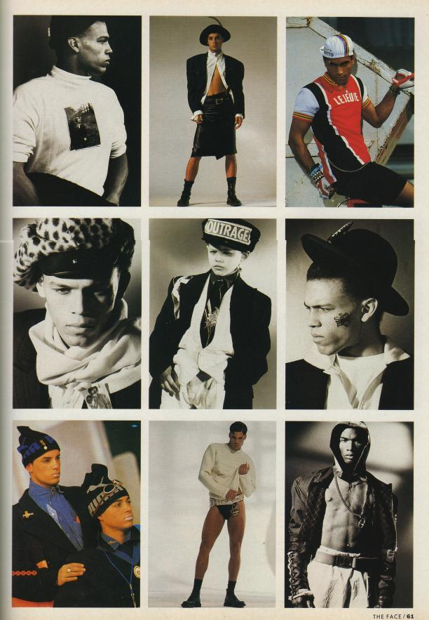 The Face No 14, november 1989. photography by Marc Lebon and Jamie Morgan. Bron: privécollectie