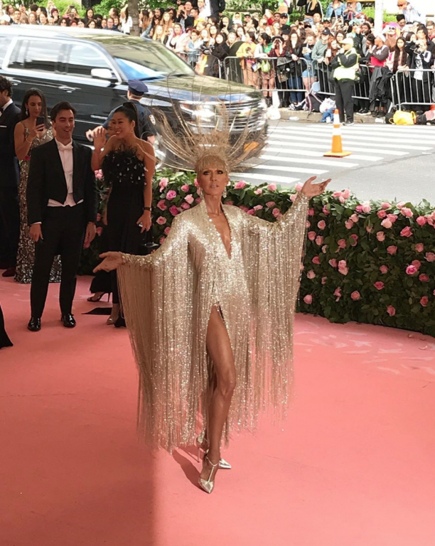 Céline Dion, MET gala 2019, foto: © Instagram MET Museum