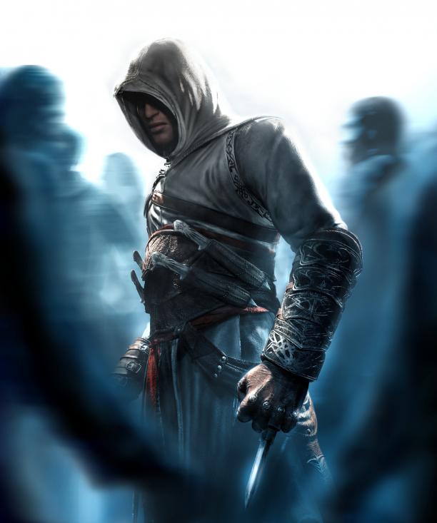 Altaïr met kap