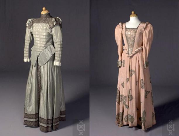 """Kostuums voor de voorstelling """"Elizabeth de vrouw zonder man"""" (André Josset). Ontwerp: Herman Rosse, 1936, Theatercollectie Bijzondere Collecties UvA (stichting TiN)."""