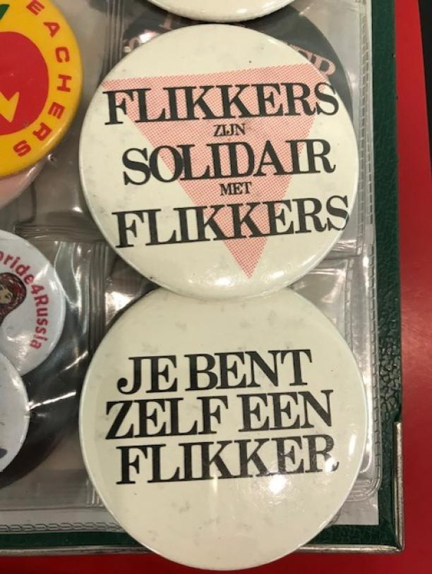 Buttons collectie Paul Derrez en Willem Hoogstede