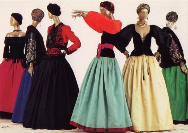 Yves Saint Laurent, 'Opéras et Ballets Russes', Metropolitan Museum of Art, 1983