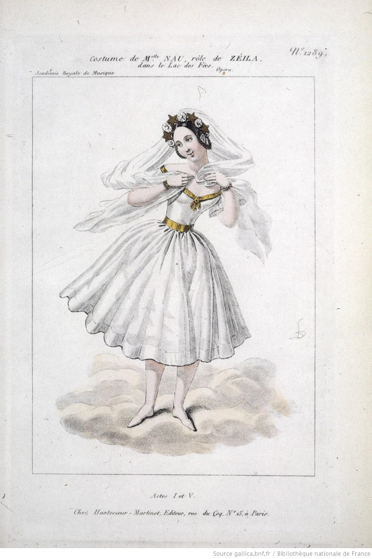 Afb. 3 Nimf Zéila uit Le Lac des Fées, Bibliothèque nationale de France, Parijs.